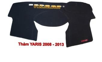 Thảm chống nắng Taplo xe Yaris đời 2008-2013