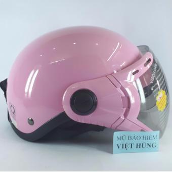Mũ bảo hiểm GRS A33K (Hồng bóng)