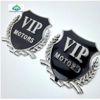 Lô gô VIP Motor Gắn Xe Ô Tô 206277-1 (Trắng)