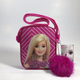 Túi Đeo Chéo 1 dâycông chúa BARBIE BB23626 hàng THÁI LAN màu HỒNG 12x4x15cm dành cho bé GÁI