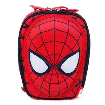 Balo học sinh trẻ em 3D Spider Man siêu nhẹ cho bé trai (BL3DSP9D)
