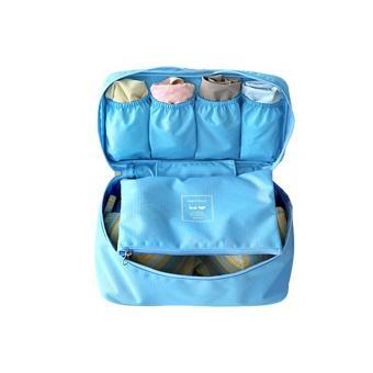 Túi đựng đồ lót du lịch Monopoly (Xanh dương) - GocgiadinhVN