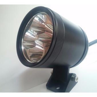 Đèn pha LED trợ sáng cho xe máy LED L4 tốt (Đen)