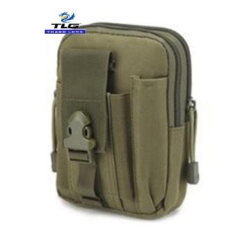 Túi Đeo Hông Thời Trang Cao Câp Đồ Da Thành Long TLG 208057 4(xanh oliu)