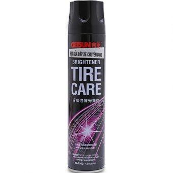 Chai xịt bọt rửa lốp xe Getsun chuyên dụng 650ml Hanghot365 (Đen)