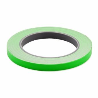 Cuộn Decal phản quang dán viền bánh xe / thân xe (xanh lá đậm)