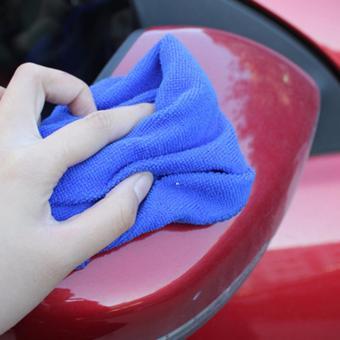 Bộ 2 khăn chuyên dụng lau rửa xe ô tô