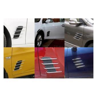 Cặp hốc gió trang trí cánh cửa xe ô tô LỘC PHÁT ALCC