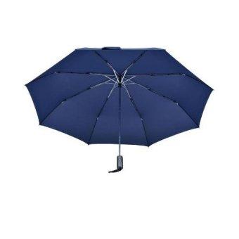 Ô đi mưa đóng mở tự động 2 chiều cỡ lớn (Xanh đen)