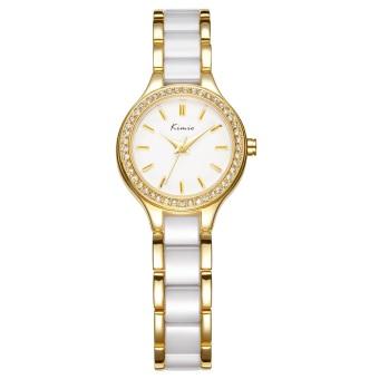 Đồng hồ nữ dây đá Kimio 063 (Vàng)