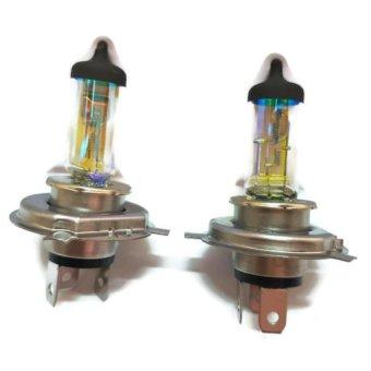 Hộp 2 bóng đèn H4 24v DC chất lượng cao EAGLITE Hàn Quốc (100/90w gold)