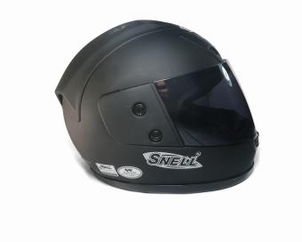 Mũ bảo hiểm trùm đầu Snell Fullface (Đen nhám)