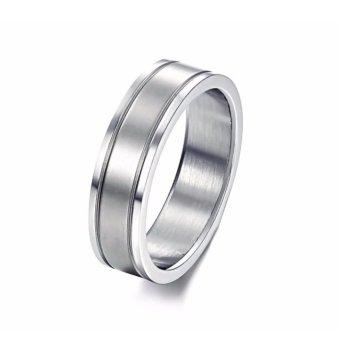 Nhẫn inox đeo ngón út N255 (Màu bạc)