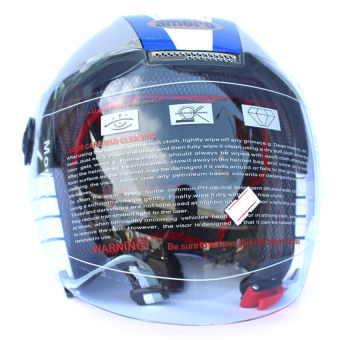 Mũ bảo hiểm trùm đầu Amoro 239A (Bạc)