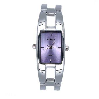 Đồng hồ nữ dây thép không gỉ KIMIO K1601L-S09 mặt tím