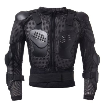 Motorcycle Full Body Protective Armor Jacket Spine Chest Shoulder Riding Gear - Intl