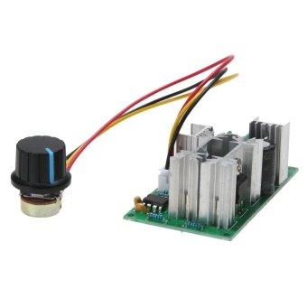 12V/24V/36V/48V/60V 1200W 20A PWM FAN Controller DC Motor Speed Control - intl
