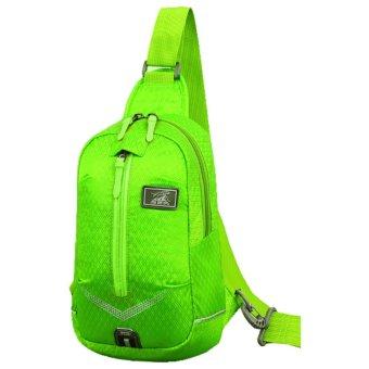 Ba lô du lịch đeo chéo 1 quai chống nước KF1QBa (xanh)