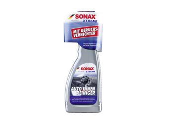 Chai xịt vệ sinh làm sạch, khử mùi và bảo dưỡng nội thất xe Sonax 500ml