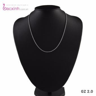 Dây chuyền nữ trang sức bạc Ý S925 Bạc Xinh GZ2.0
