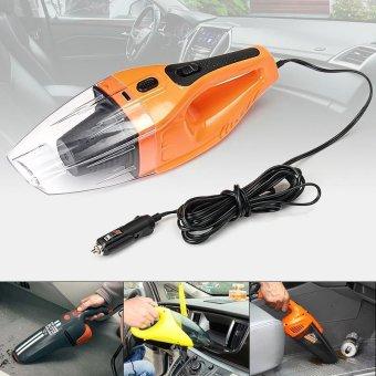 Orange 12V 100W Mini Portable Car Vehicle Car Handheld Vacuum Cleaner Wet & Dry - intl