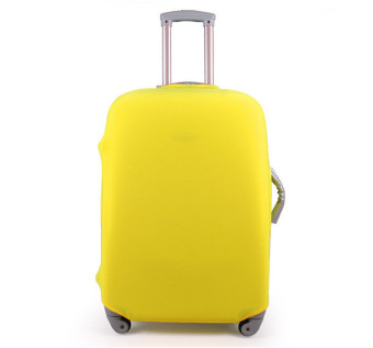 1 x Luggage Protector Elastic Suitcase Cover Bags Dust-proof Case 20'' Yellow - Intl