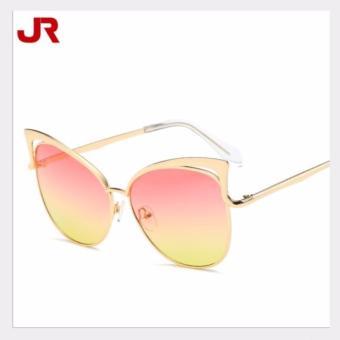 Mắt kính thời trang - MK0027HV (Hồng vàng)