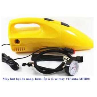 Máy hút bụi bơm lốp đa năngcho ô tô xe máy PHAuto-MHB01