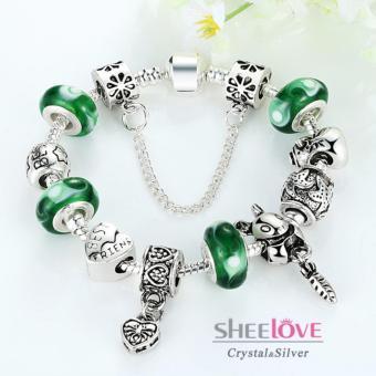 Vòng tay nữ hạt charm thời trang phong thủy PA1433