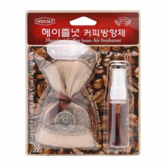 Túi thơm hương Cafe Hazelnut Korea treo xe hơi,văn phòng