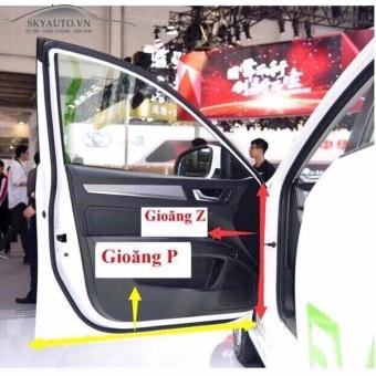 Trọn bộ gioăng cao su chống ồn loại đặc biệt cho xe hơi 7 chỗ