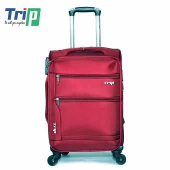 Vali Vải TRIP P038 Size S - 20inch (Đỏ đô)