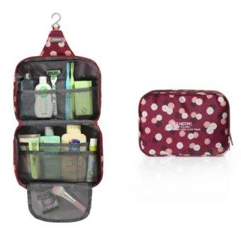 Túi đựng mỹ phẩm đồ dùng cá nhân chống thấm Dundes (Hoa)