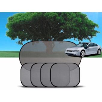 Bộ 5 tấm che nắng xe ô tô CN01- đen