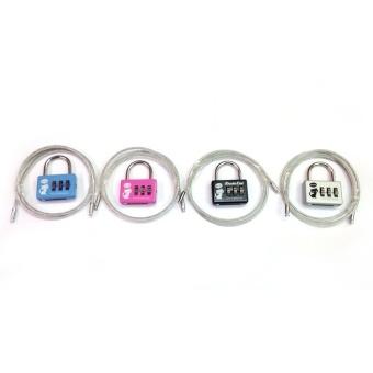 Bộ 4 ổ khóa vali OKVL09