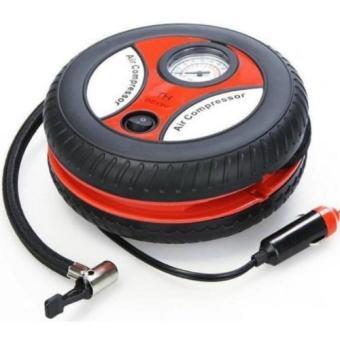 Thiết bị bơm lốp ô tô Air Compressor 260PSI (đen phối đỏ)