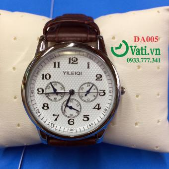 Đồng hồ đeo tay dây da nam cao cấp chống nước 100% DA005