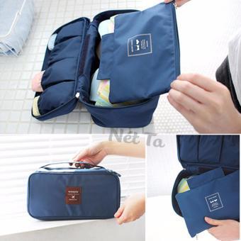 Túi đựng đồ du lịch nhiều ngăn chống thấm nước bên trong tiện lợi Nét Ta - XC.Ver2 (Xanh ngọc)