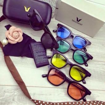 Mắt kính thời trang chữ V