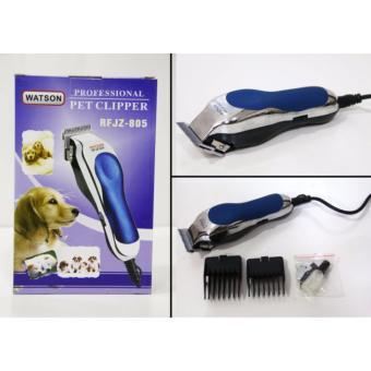 Tông đơ cắt lông cho chó mèo thú cưng chuyên nghiệp KEMEI RFJZ-805 ( xanh)