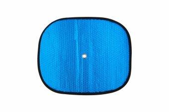 Che nắng xốp tròn nhỏ loại dày BST-11035 36*44cm Auto Quoc Te (Bạc lam)