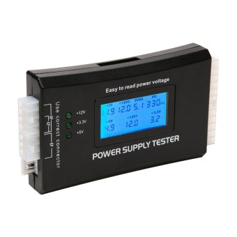 Digital LCD Computer 20/24 Pin Power Supply Tester - intl