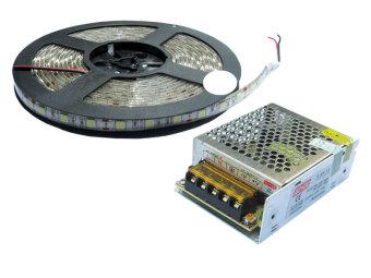 Bộ đèn LED dây dán VAKS V-LD-W (Trắng)