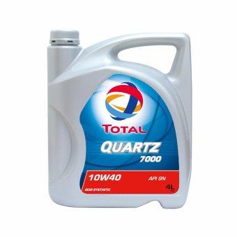 Nhớt xe ô tô Total Quartz 7000 10W40 4L