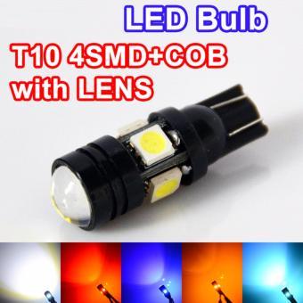Bộ 2 bóng led T10 VH030 (thân đen-sáng trắng)