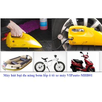 Máy hút bụi đa năng và bơm lốp ô tô xe máy VIPauto-MHB01