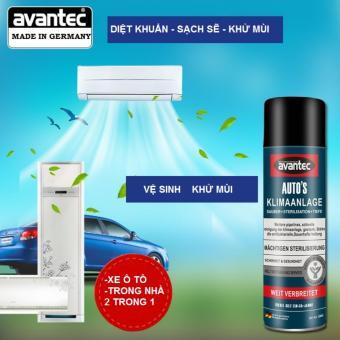 Dung dịch bình xịt vệ sinh máy lạnh ô tô, xe hơi, máy lạnh gia đình, diệt khuẩn 550ml đến từ Đức