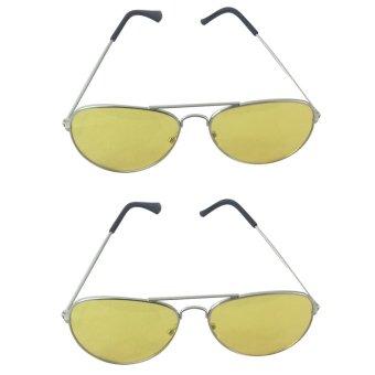 Bộ 2 Kính mắt nhìn xuyên đêm KN70A (Vàng)