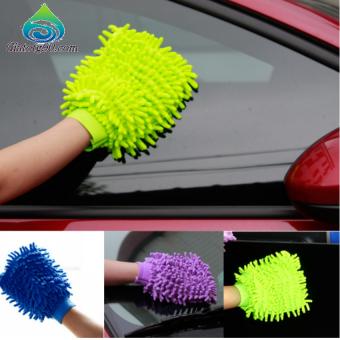 Bộ 2 găng tay chuyên dụng lau rửa xe hơi, ô tô đa năng 206241