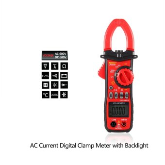 UYIGAO UA2008B Handheld Digital LCD Clamp Meter Multimeter - Intl